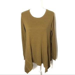 LOGO Asymmetrical Hem Tunic Small